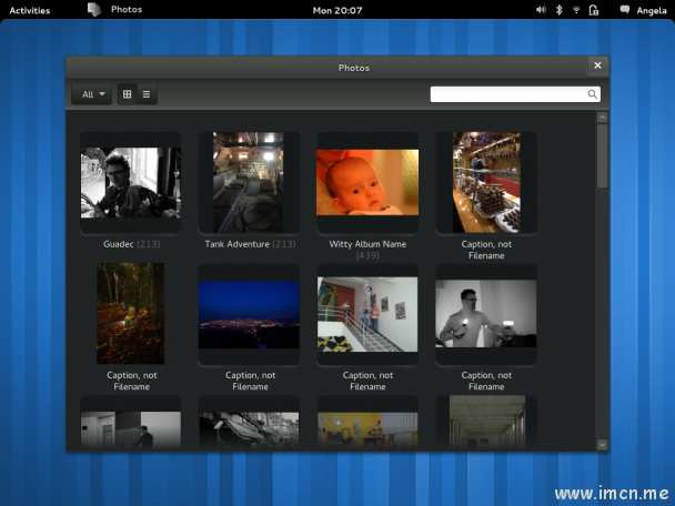 gnome 3.2 -photos