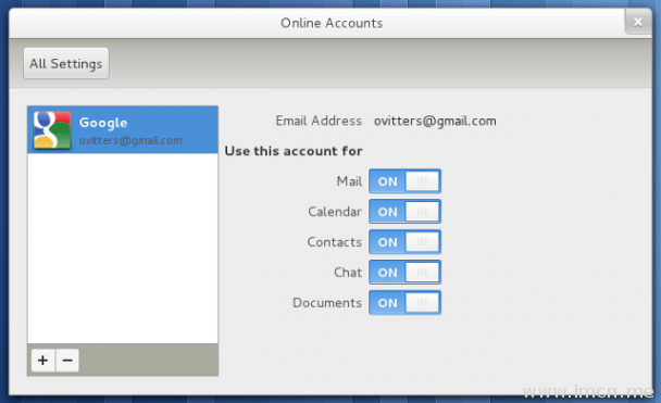 gnome-online-accounts