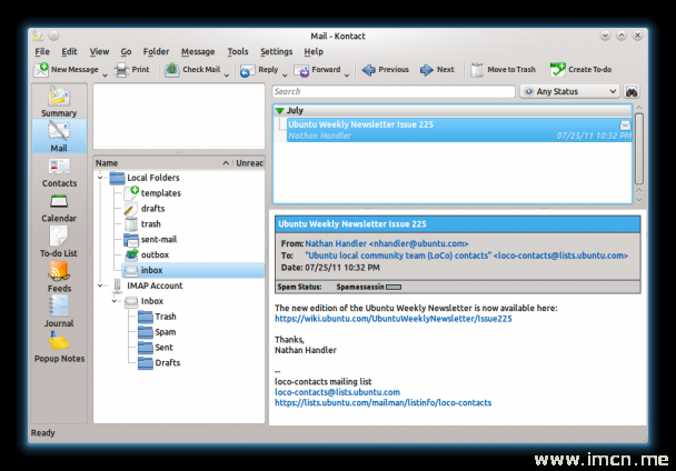 KDE的个人资讯管理套件4.7