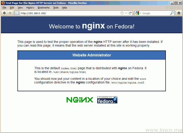 Nginxwebsite