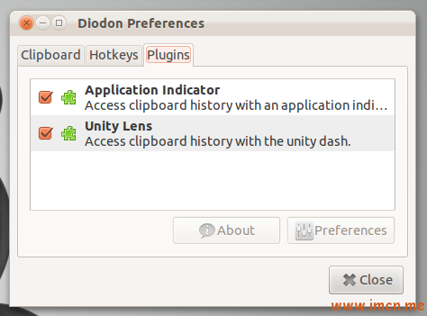 diodon 0.6 plugin-based