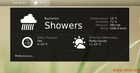 gnome-shell-weather-extension