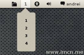 gnome-shell-workspace-indicator