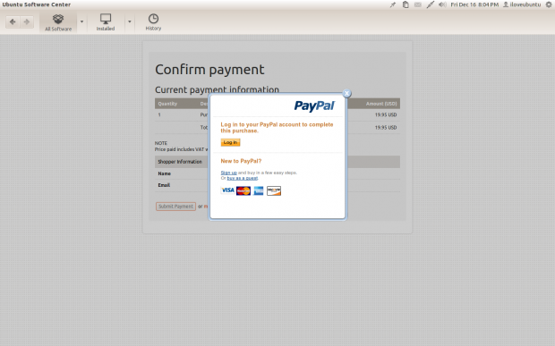 PayPal support 2