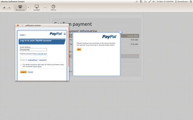 PayPal support 3