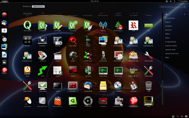 ultimate-edition 3.2 gnome