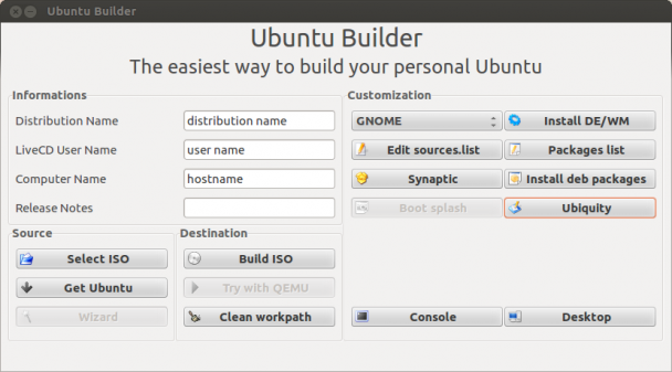 Ubuntu Builder Customize Ubuntu