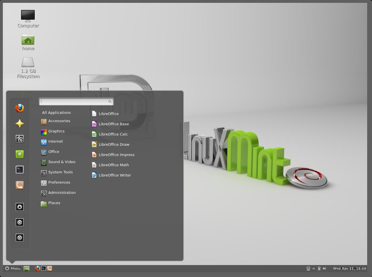 Linux Mint Debi...