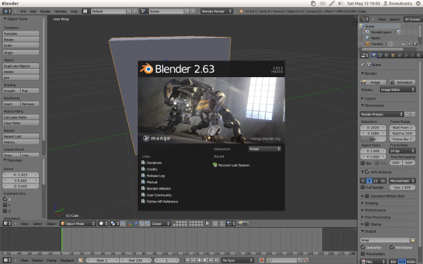 blender 263a