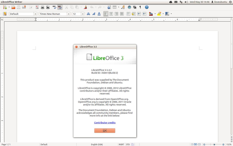 libreoffice 3.5.4
