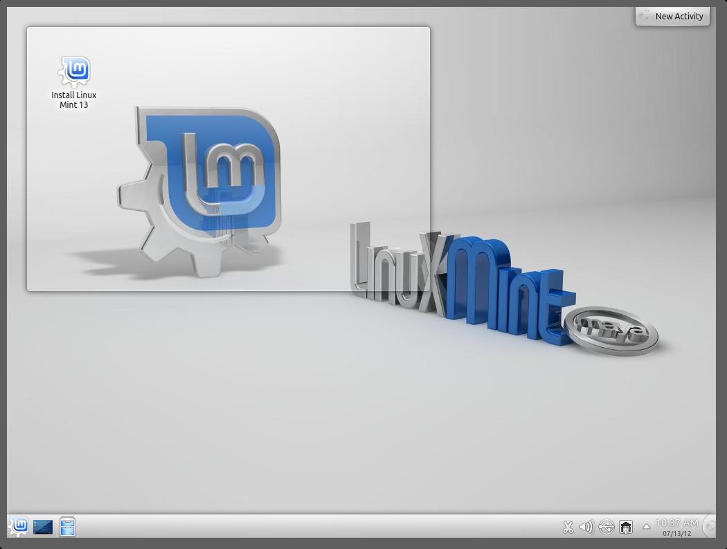 Linuxmint13kde