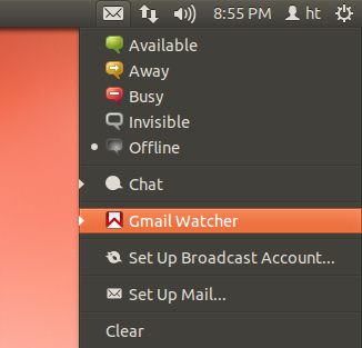 gmail-watcher-applet