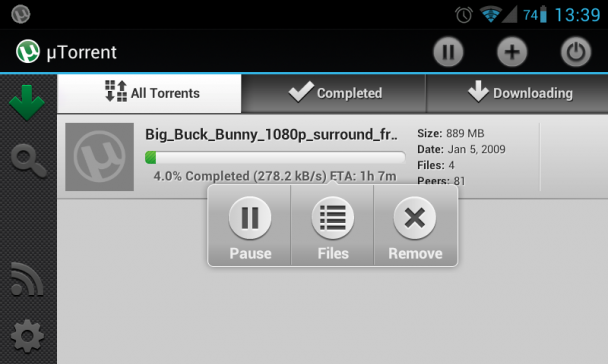 utorrent-for-android