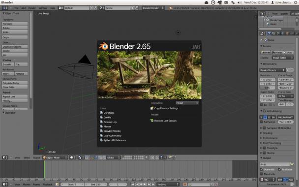 blender 2.65 release