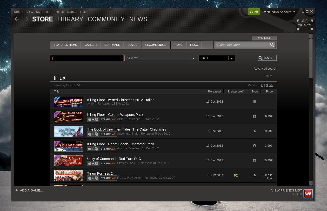 steam-for-linux