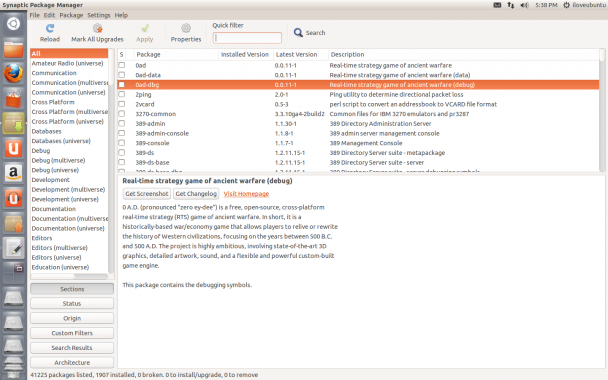 synaotic gtk3 support
