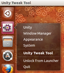 Unity Tweak Tool unity quicklist 1
