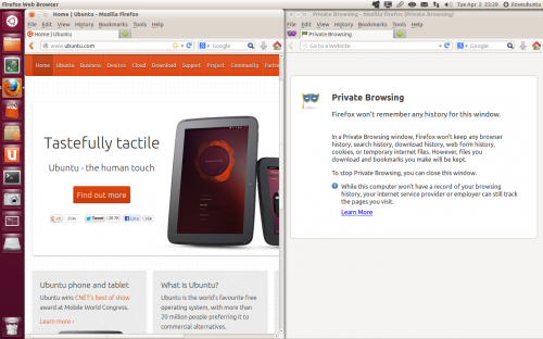 private browsing firefox 20