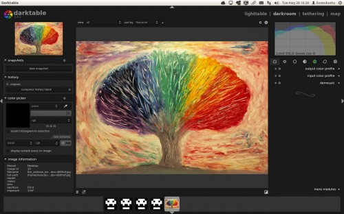 darktable 1.2.1