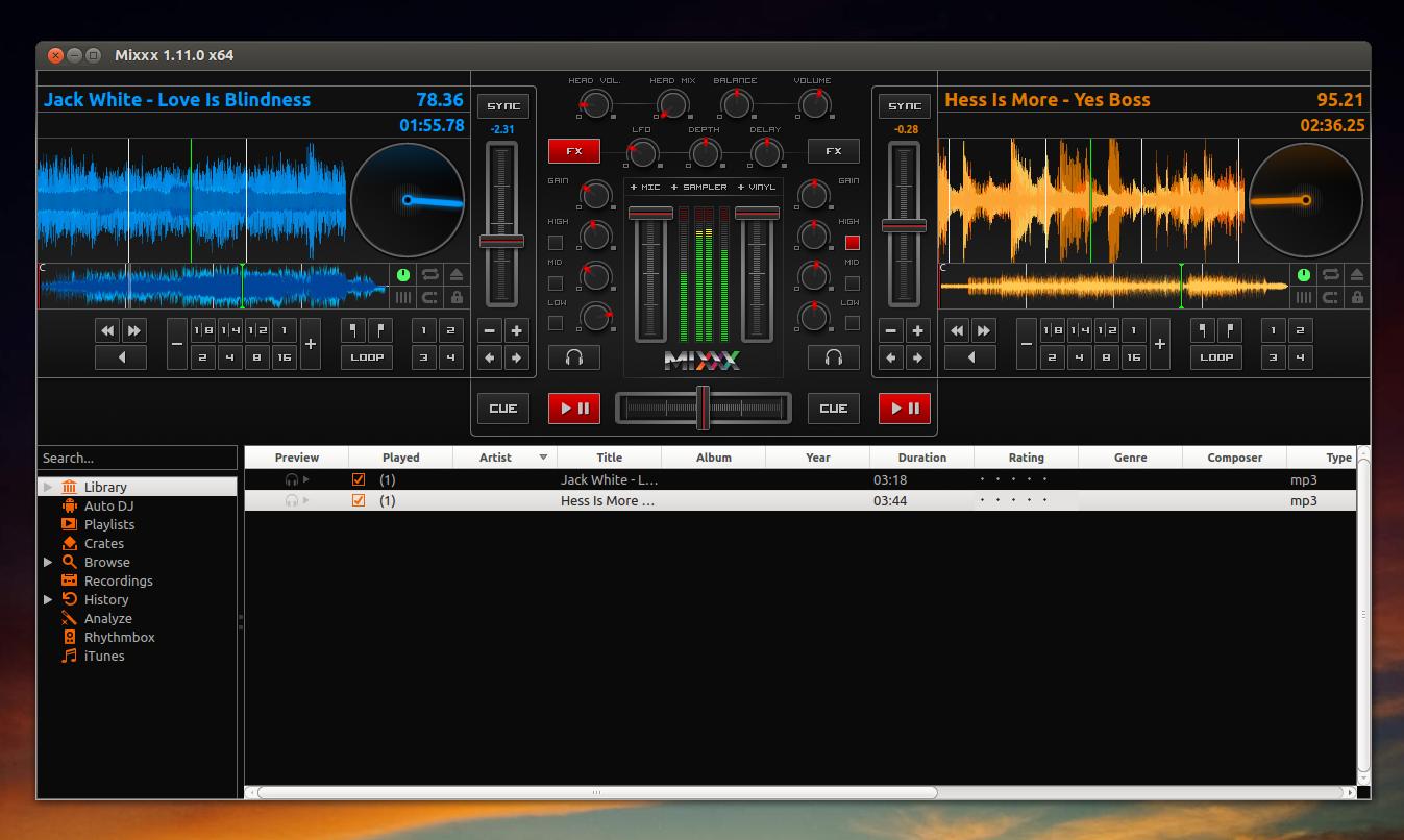 MIXXX 新版本发布 – 免费开源DJ软件