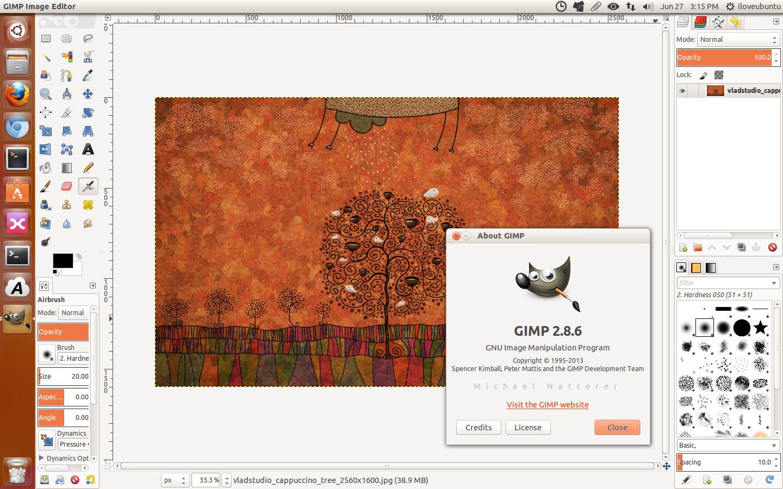 免费开源 PS 软件 GIMP 2.8.6 发布