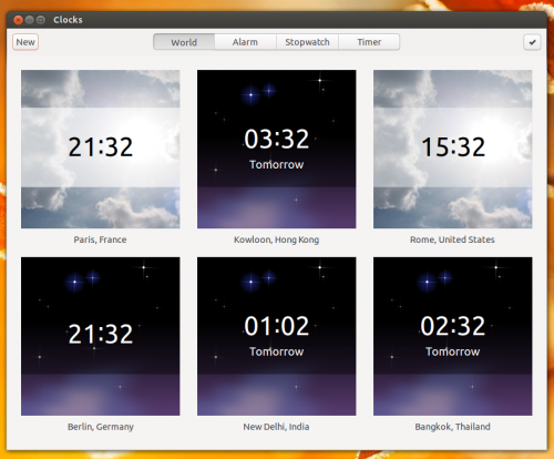 gnome clocks worl 3.8