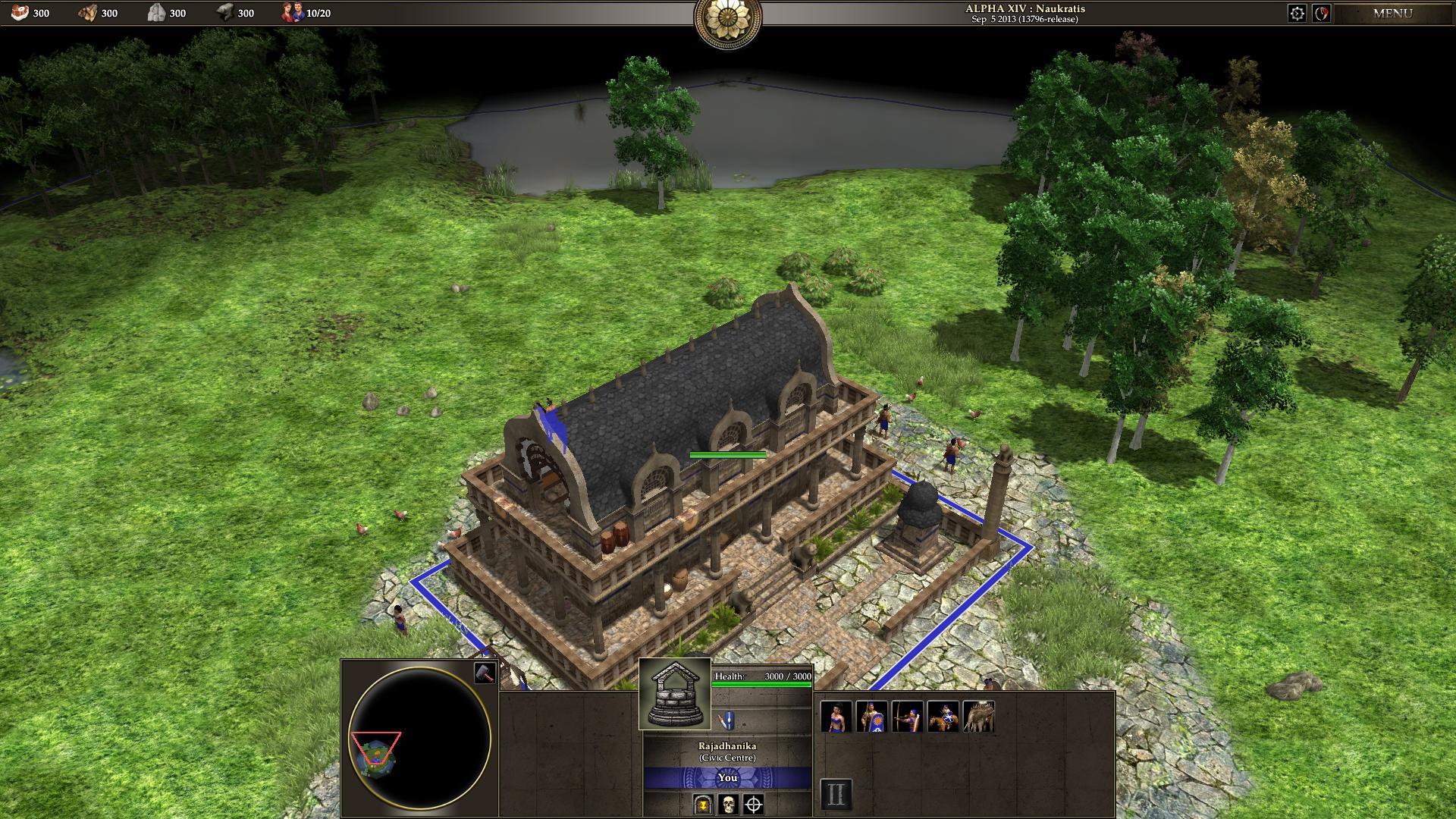 即时战略游戏 0 A.D. ALPHA 14 发布