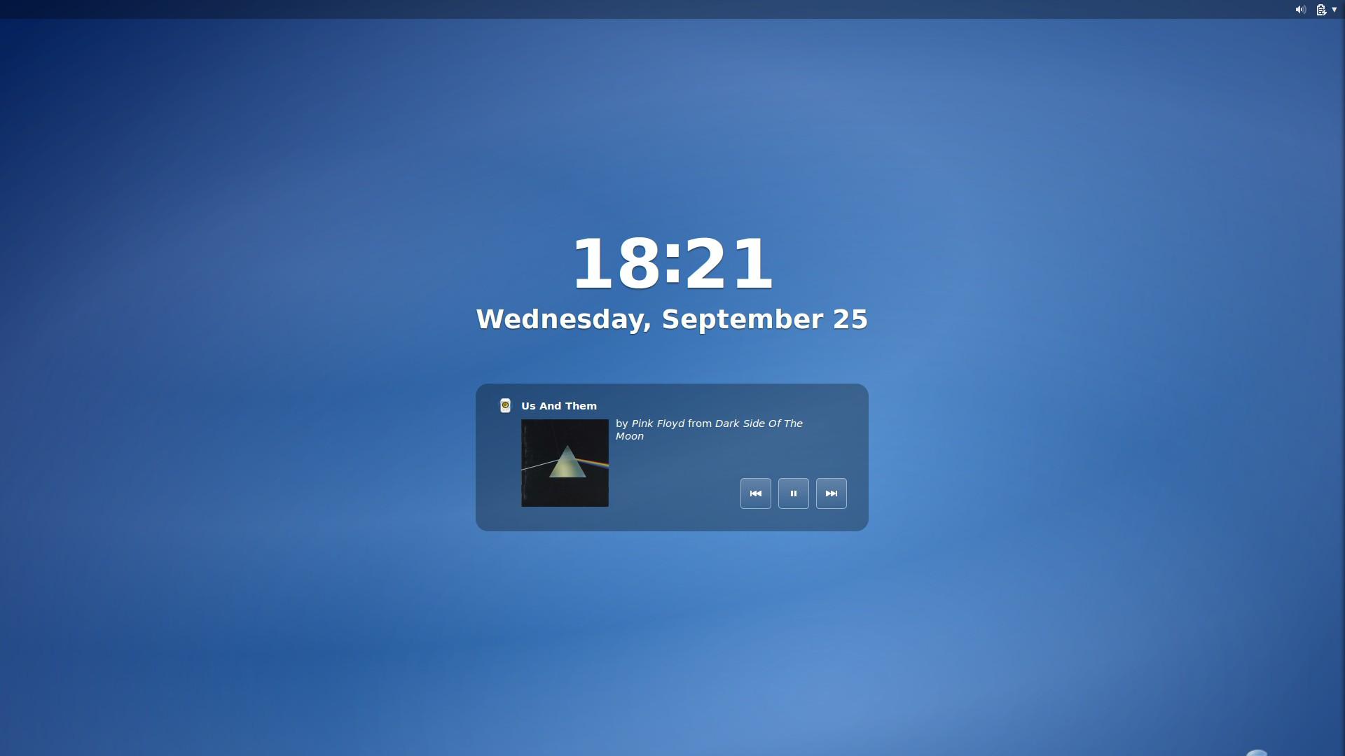 gnome 3.10 锁屏