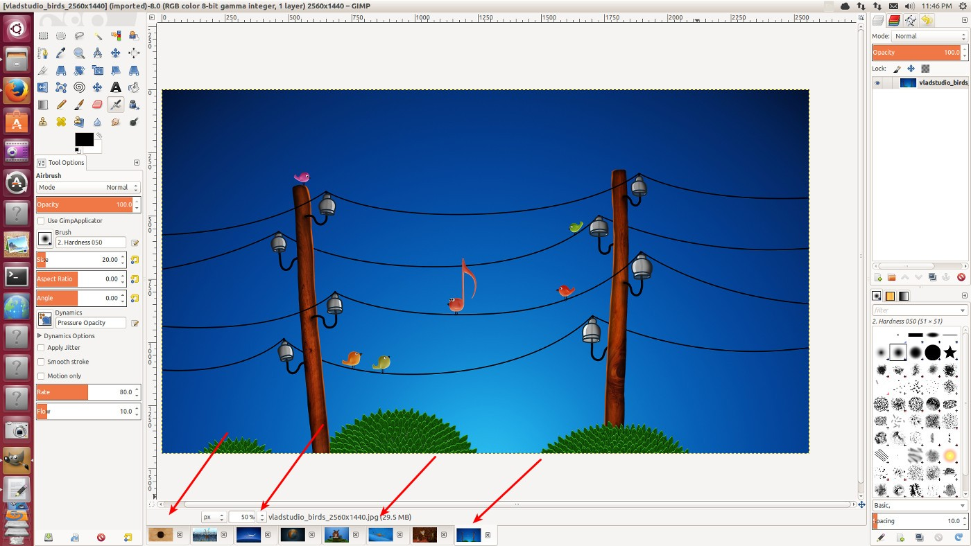 开发版本 GIMP 2.9.1 有 PPA 可用
