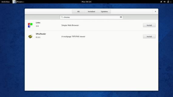 Fedora 20 gnome software center 06