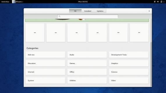 Fedora 20 gnome software center 11