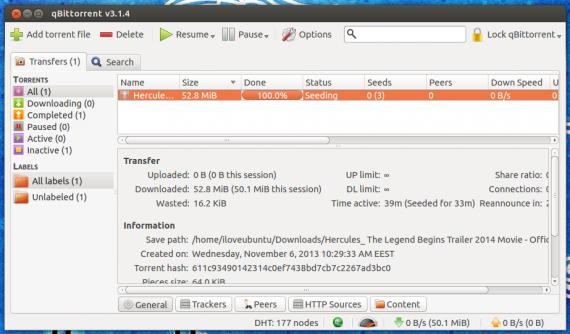 qBittorrent 3.1.4