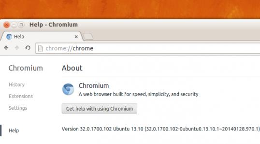 Chromium 32 发布并登陆 Ubuntu 13.10 软件中心