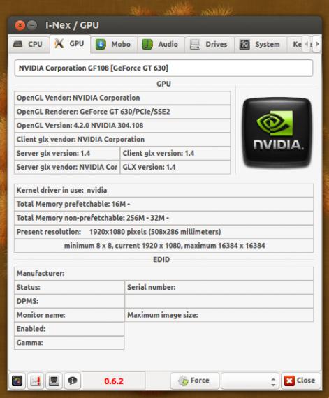 I-Nex gpu tab 062