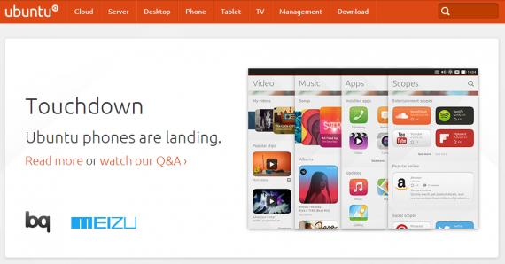 魅族Logo登陆Ubuntu官方网站首页合作已是定局