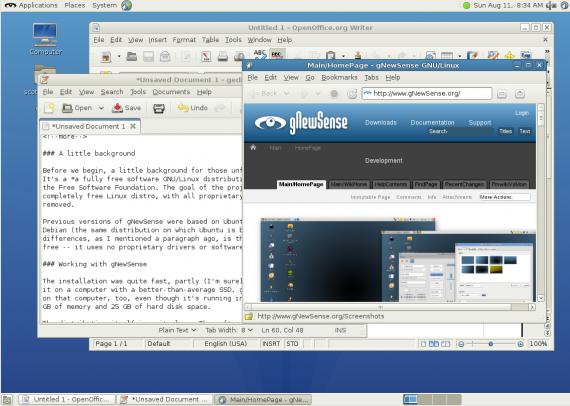 gnewsense_desktop
