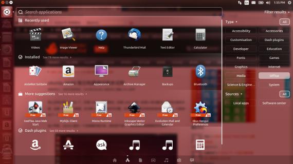 Ubuntu 14.04 dash2