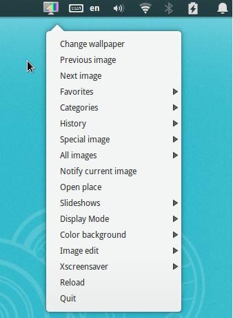 Wallpaper-Manager-through-a-drop-down-menu