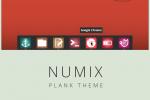 优雅的 Numix Plank Dock 主题和壁纸