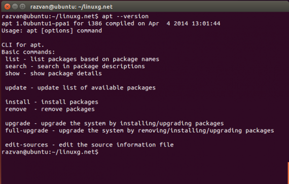 Advanced Package Tool(APT)