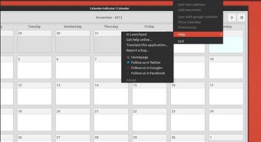 Ubuntu 14.04 用户怎样安装 Calendar Indicator 0.3 日历小程序