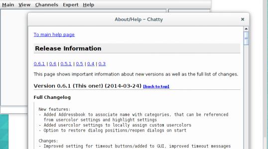 Ubuntu 及衍生版本用户安装聊天客户端 Chatty 0.6.1