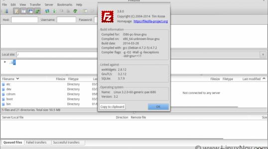FTP 客户端 FileZilla 3.8.0 已经发布