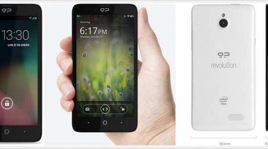 Geeksphone Revolution 智能手机通过亚马逊投放欧洲市场