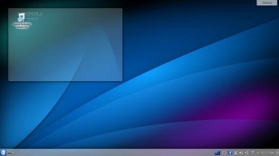 Kubuntu 14.04 LTS 截图欣赏