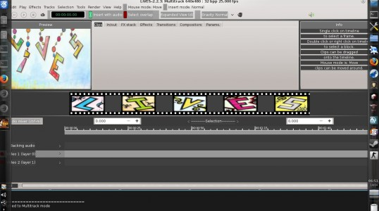 视频编辑软件 LiVES 2.2.3 发布