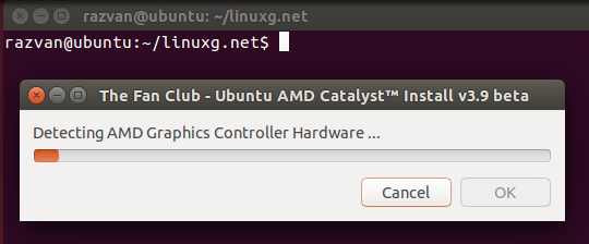 Ubuntu AMD Catalyst Install 3.9
