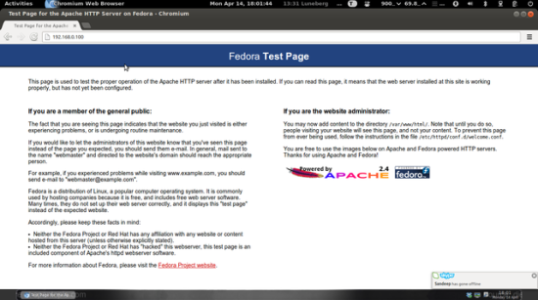 Fedora 20 用户怎样安装apache/mysql/php (LAMP主机)