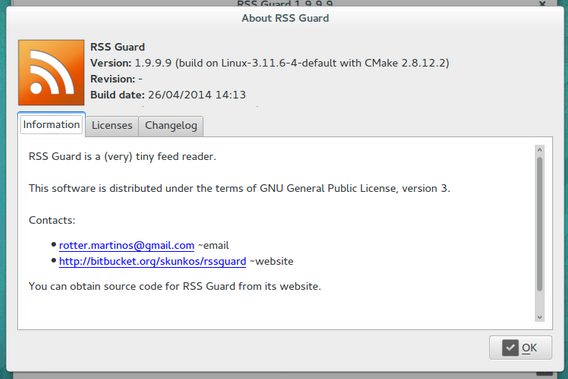 RSS Guard 1.9.9.9