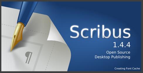 Scribus 1.4.4